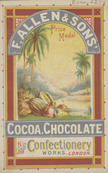Advert For F. Allen & Sons Cocoa Chocolate
